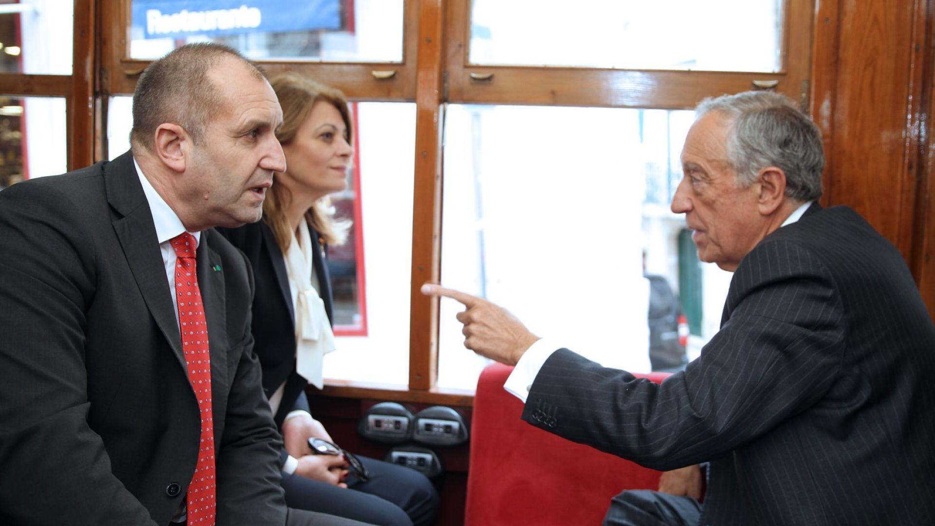 Радев обеща на българите в Португалия нова визия за подкрепа