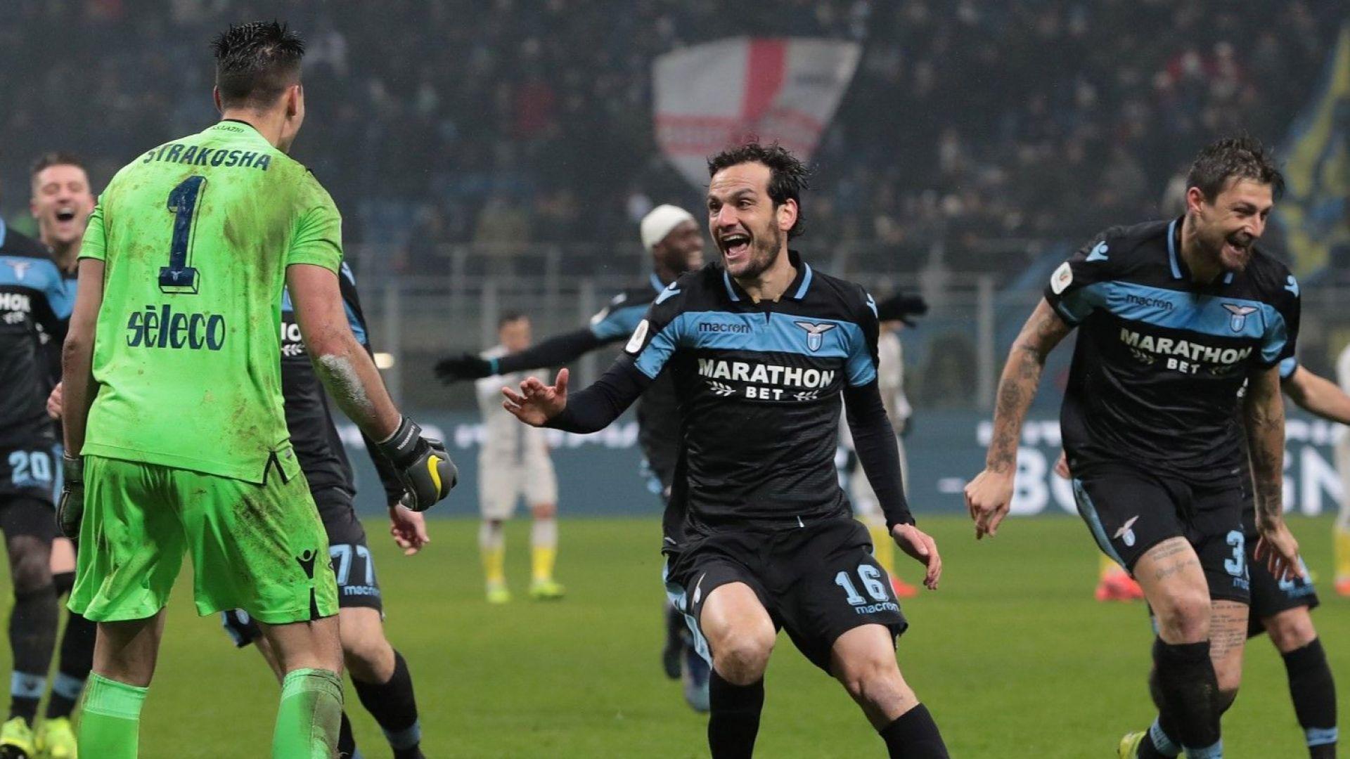 Лацио изхвърли Интер след драма в Милано
