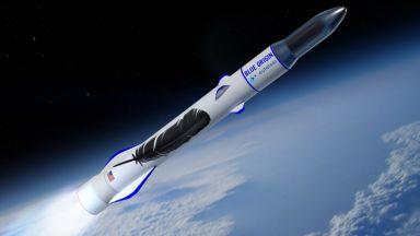 Голямата ракета на Джеф Безос дебютира след година