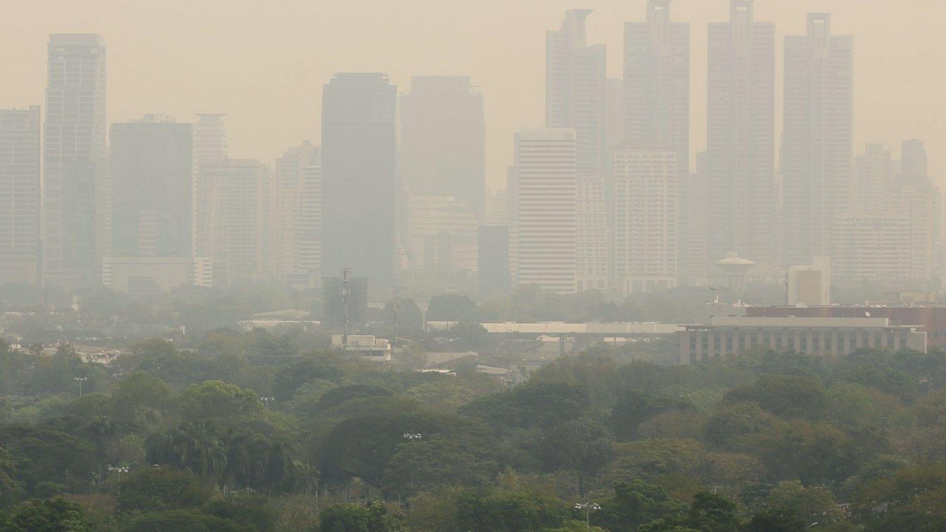 Кръв потече от носовете на хората заради мръсния въздух в Банкок