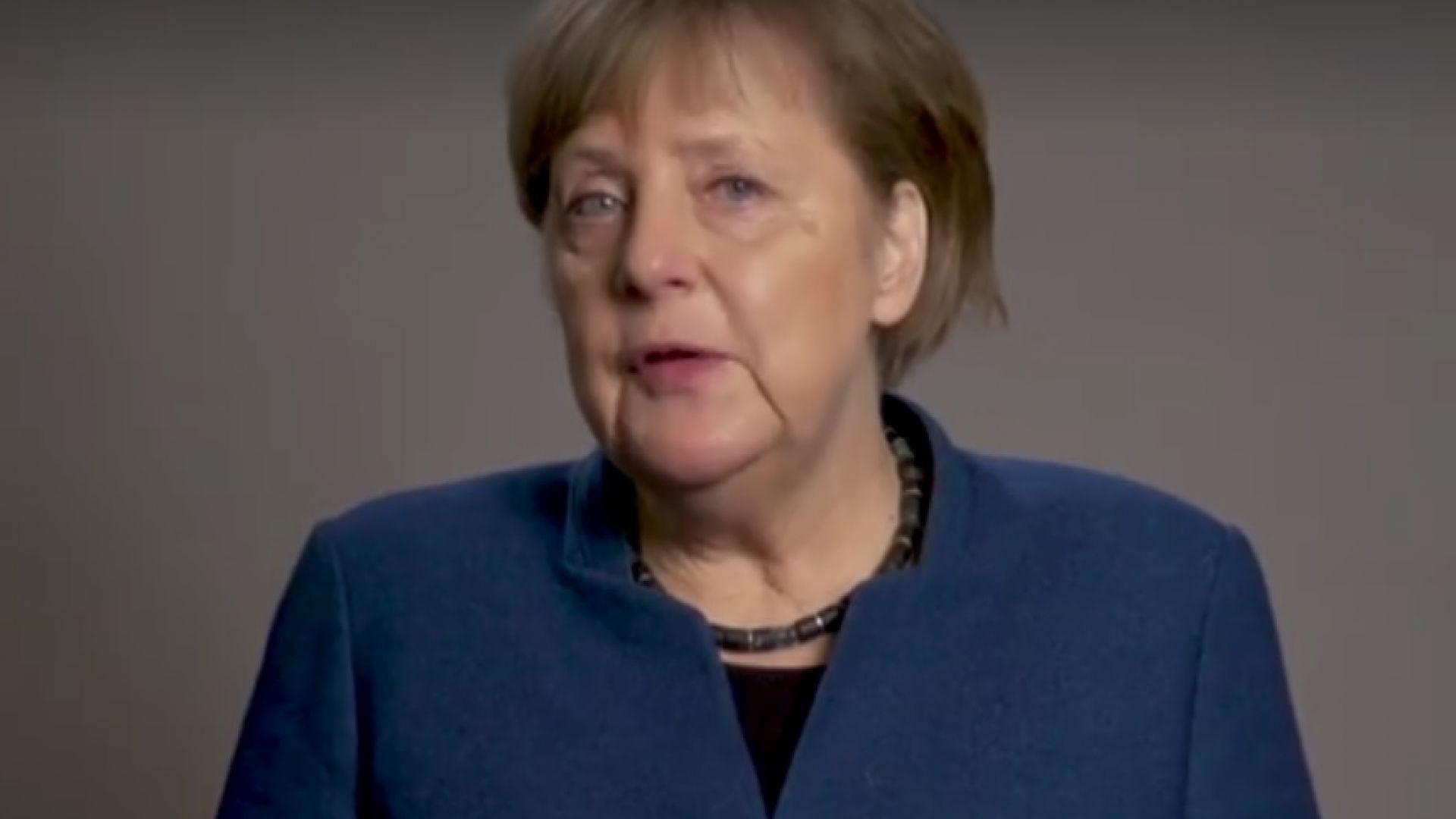 Меркел закри личната си страница във Фейсбук (видео)
