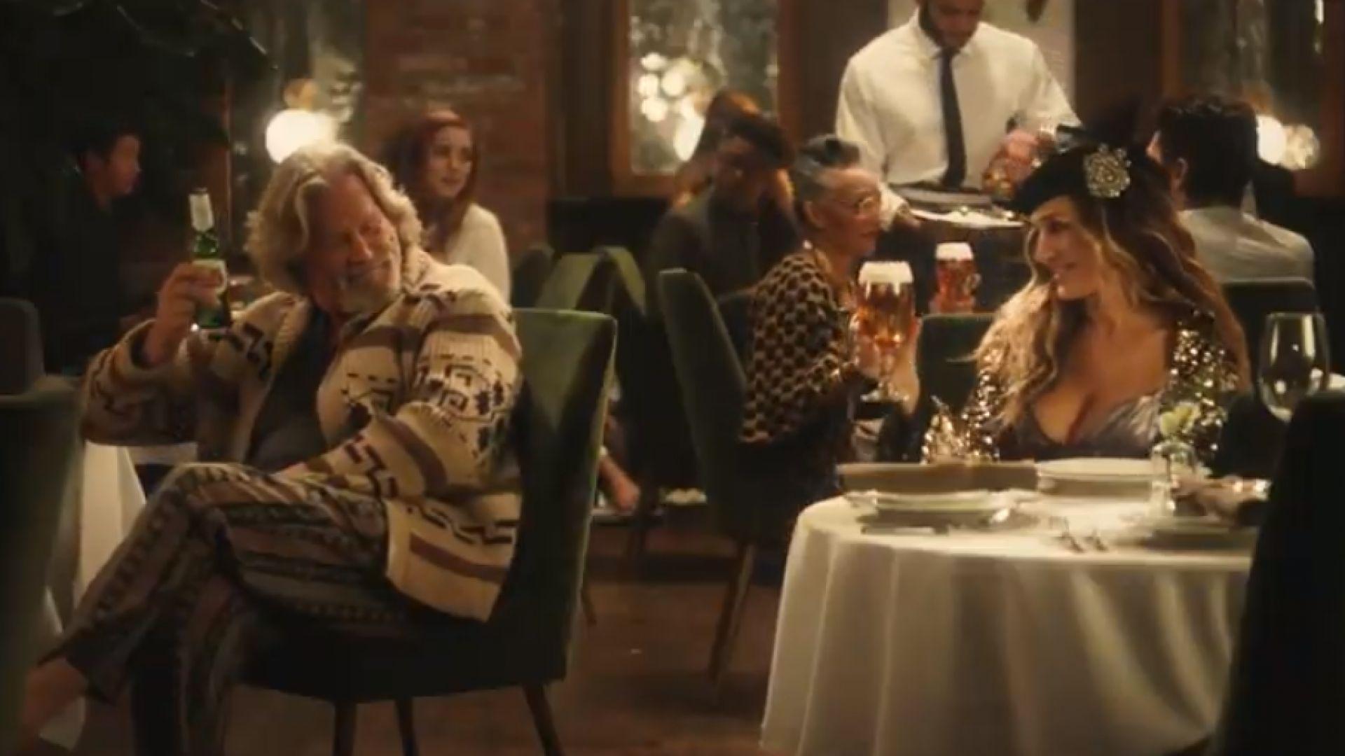 """Няма да има """"Големият Лебовски"""" 2, Пича и Кари Брадшоу се събраха в реклама"""