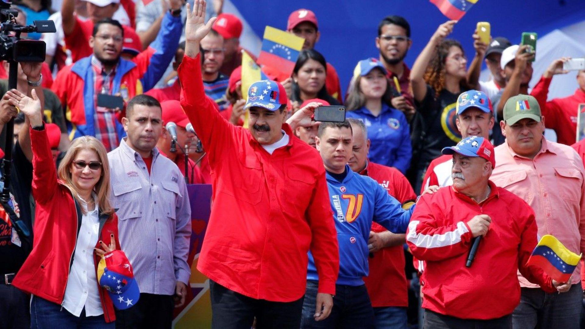 Ултиматумът Мадуро да обяви избори изтича, той обеща, но парламентарни