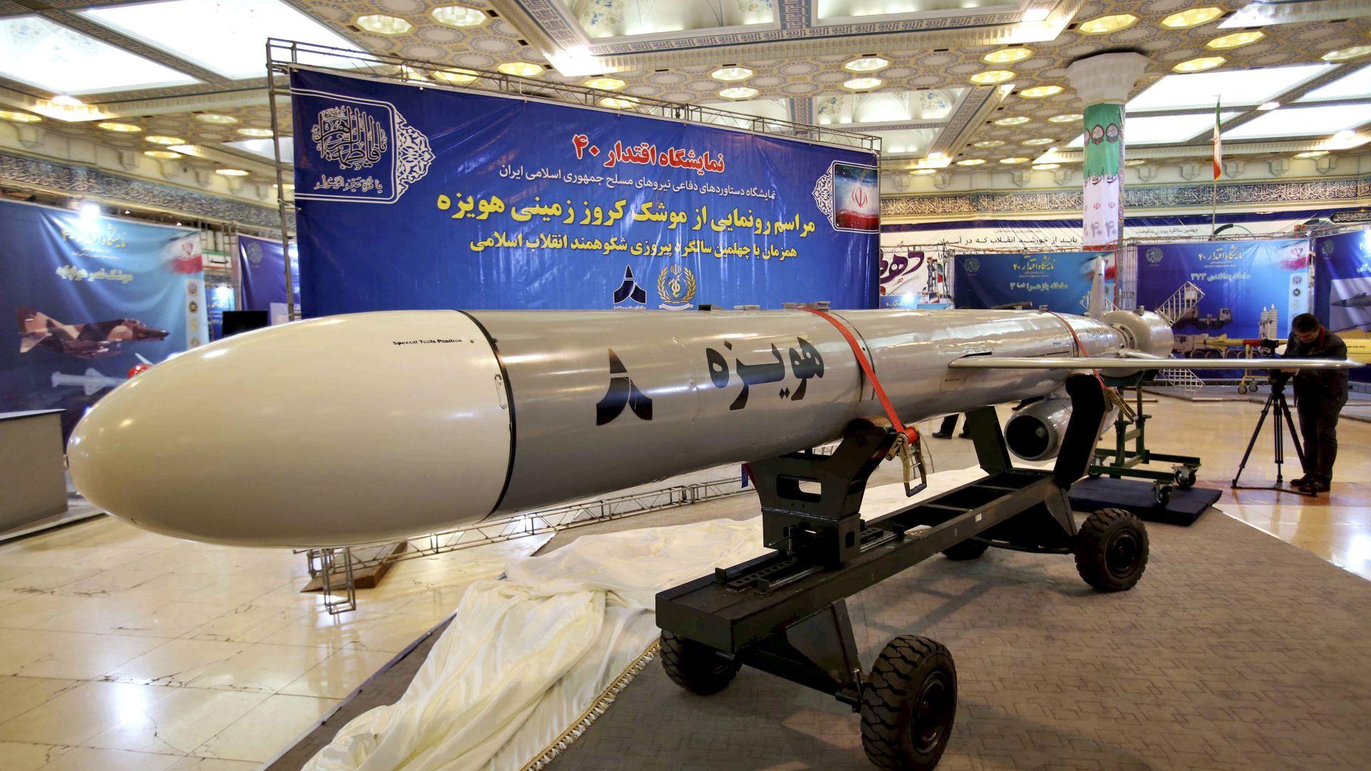 """Иран """"размаха"""" ракетите си пред Европа"""