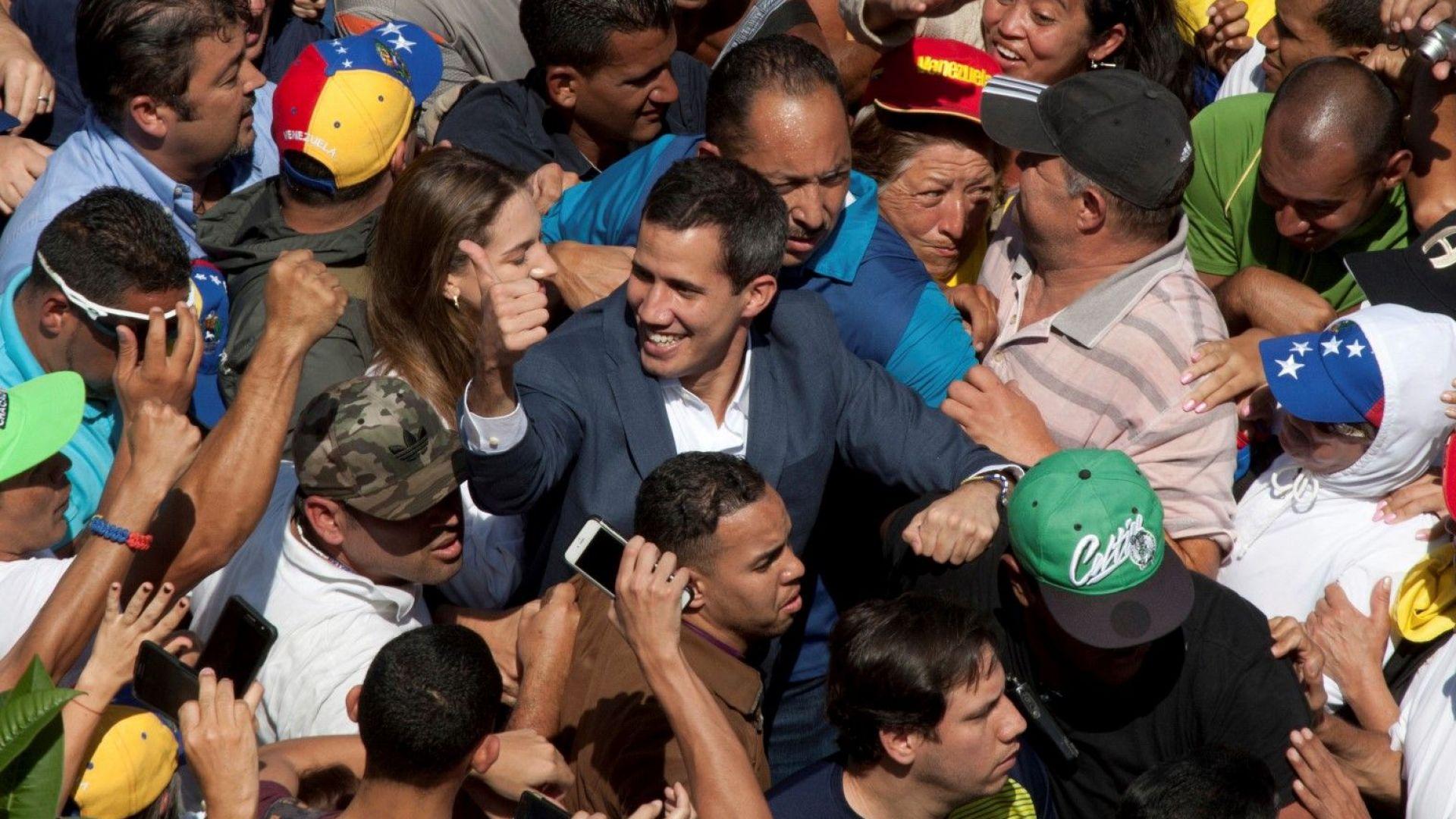 Трюдо и Гуаидо призоваха за организиране на свободни и честни избори  във Венецуела