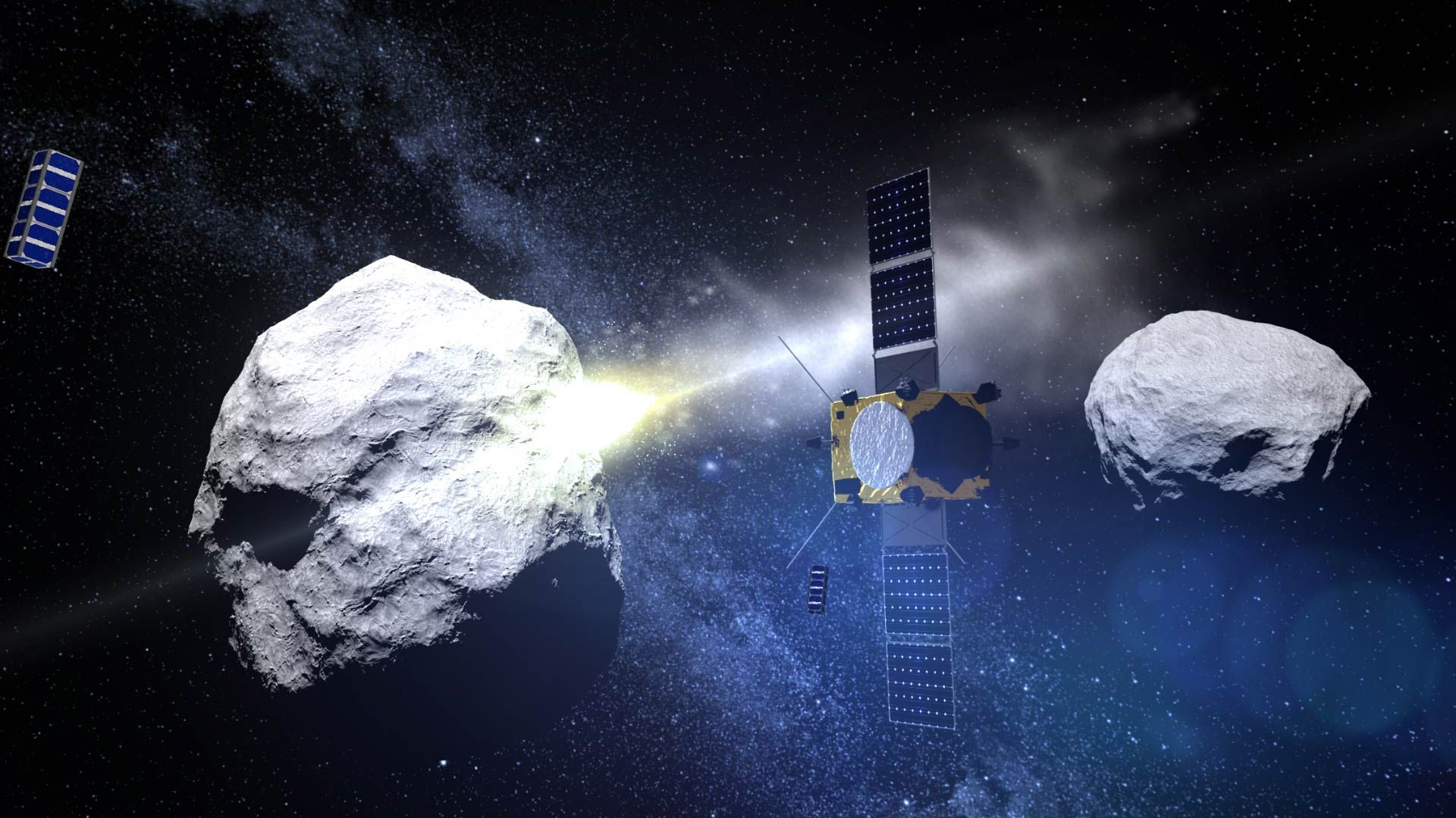 Китай също ще посети астероид