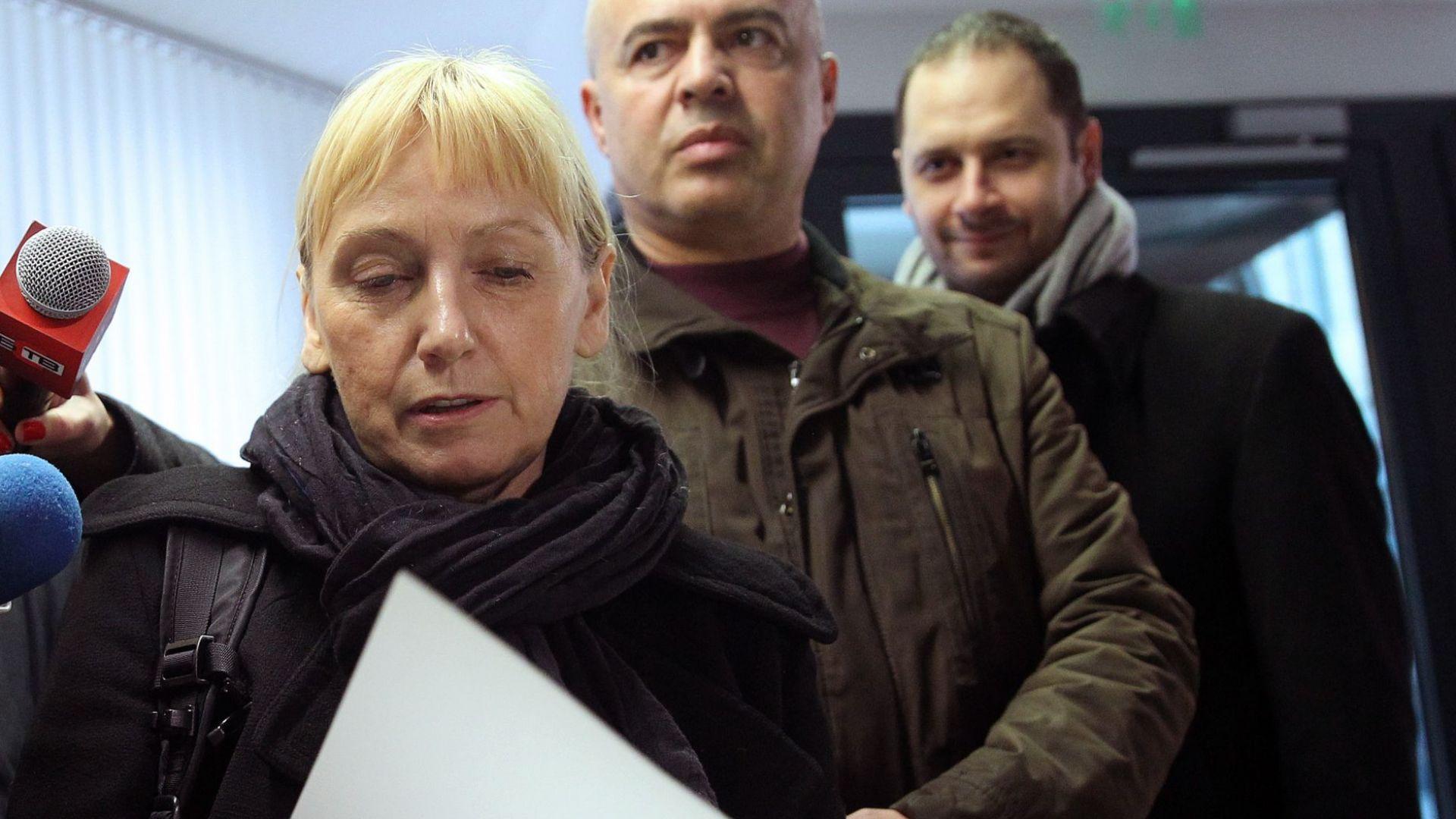 Депутатите от БСП събират от заплати 20 000 лв. за гаранцията на Елена Йончева
