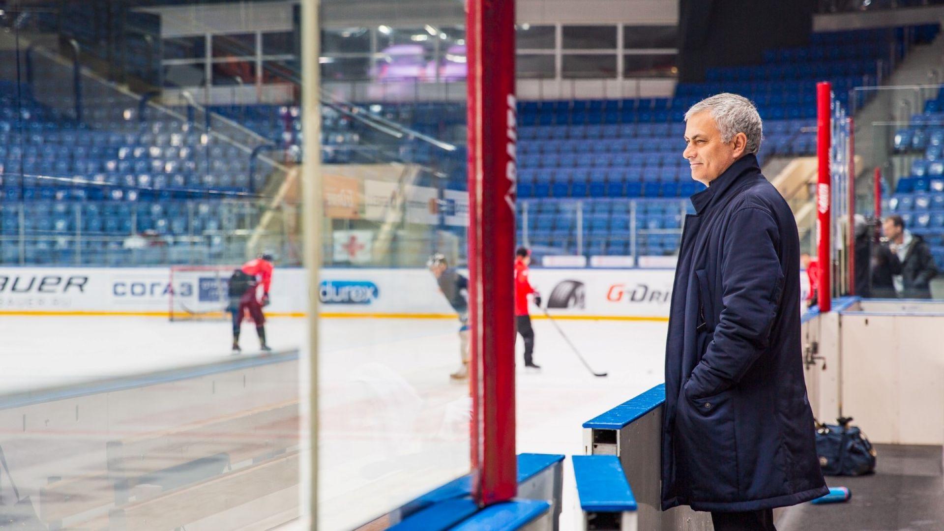 Намери ли в Русия новия си отбор (и спорт) Жозе Моуриньо? (снимки)