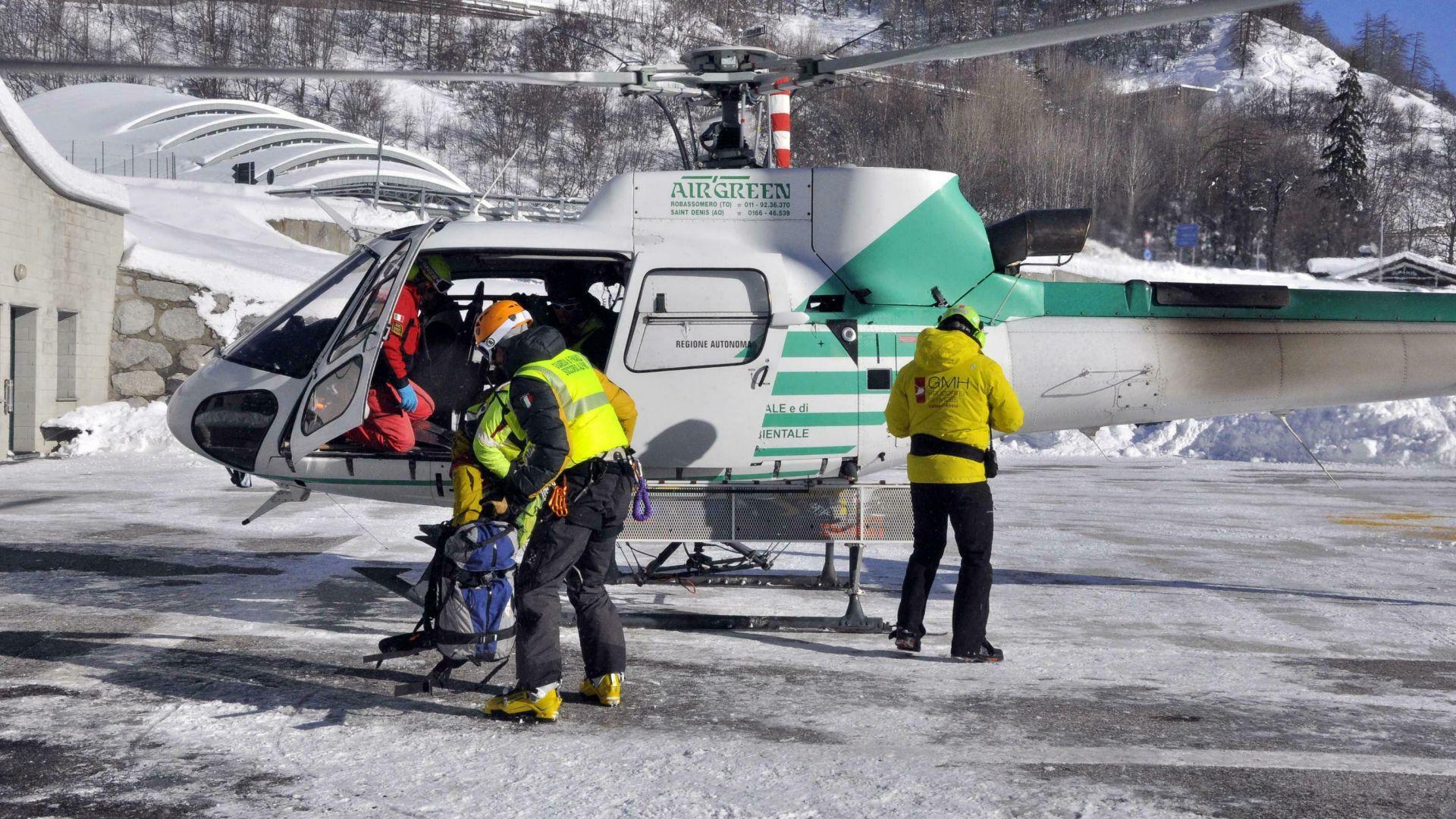 Серия от лавини в Алпите взе над 10 жертви