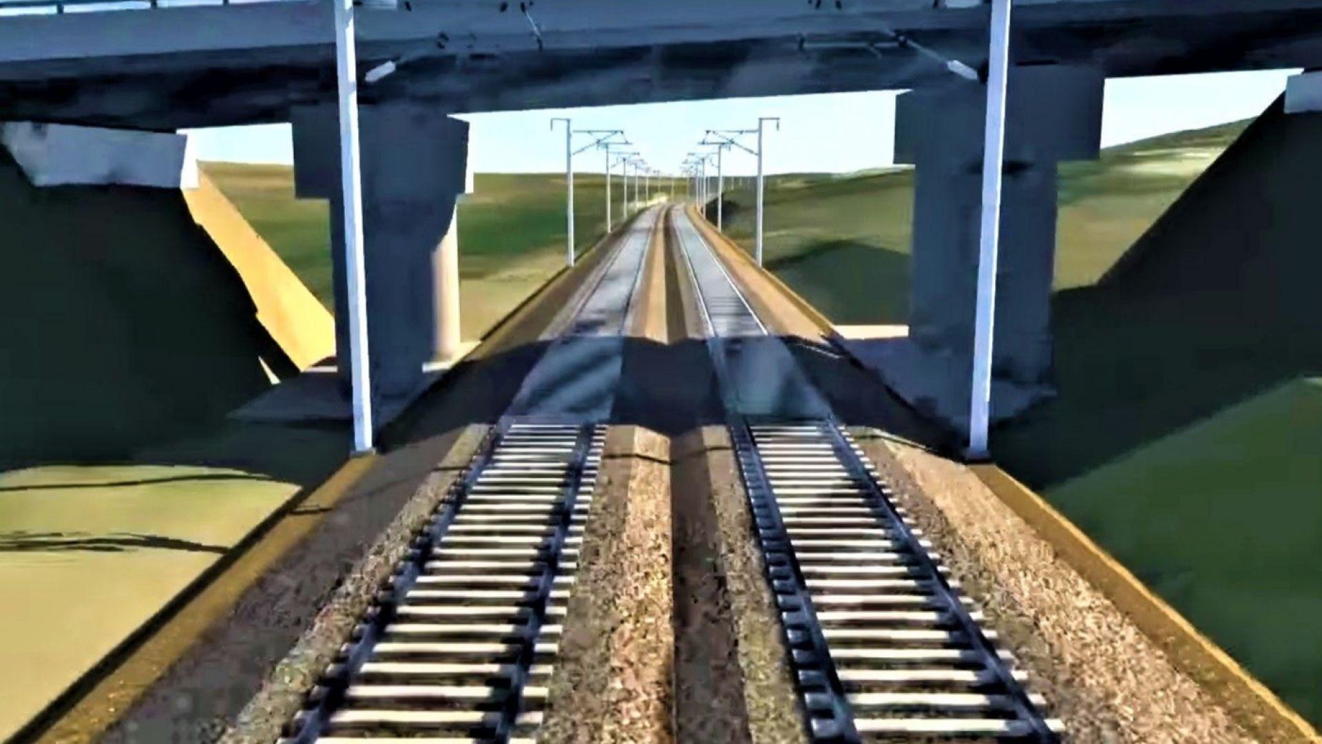 НКЖИ обяви кой ще модернизира жп линията Елин Пелин-Костенец