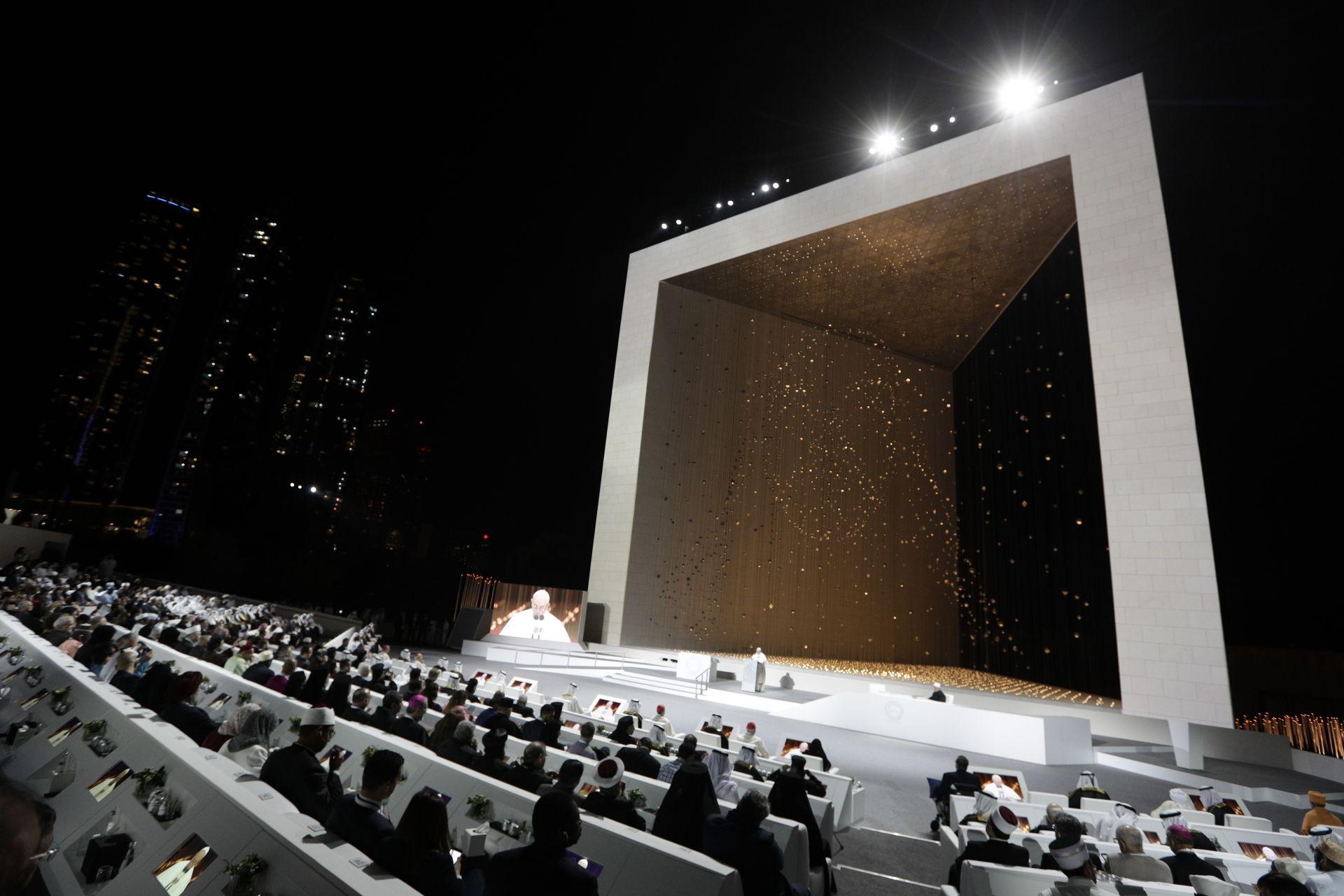 Международна междурелигиозна среща в Мемориала на шейх Зайед бин Султан ал Нахаян, основателя на Обединените арабски емирства