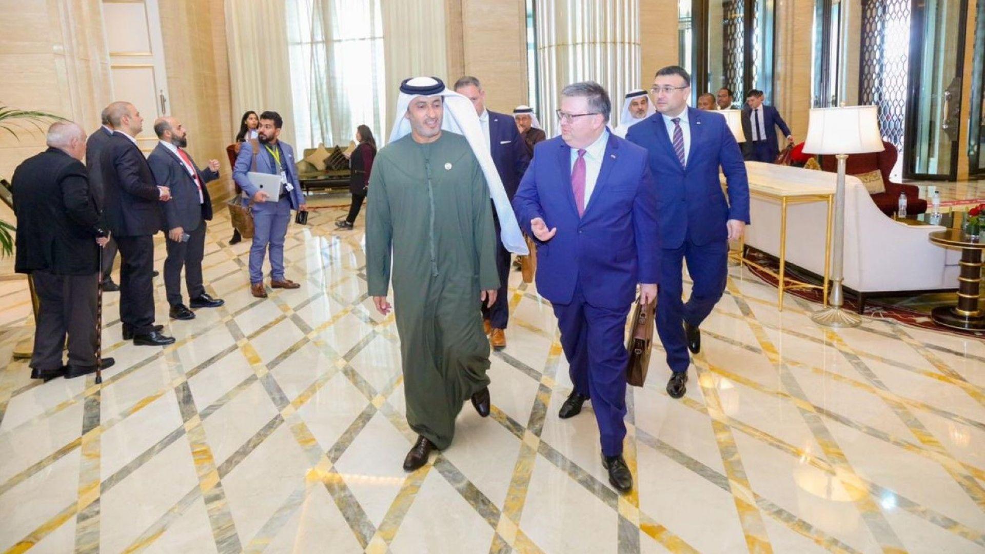 България и ОАЕ се договориха за обмен на информация при разследвания