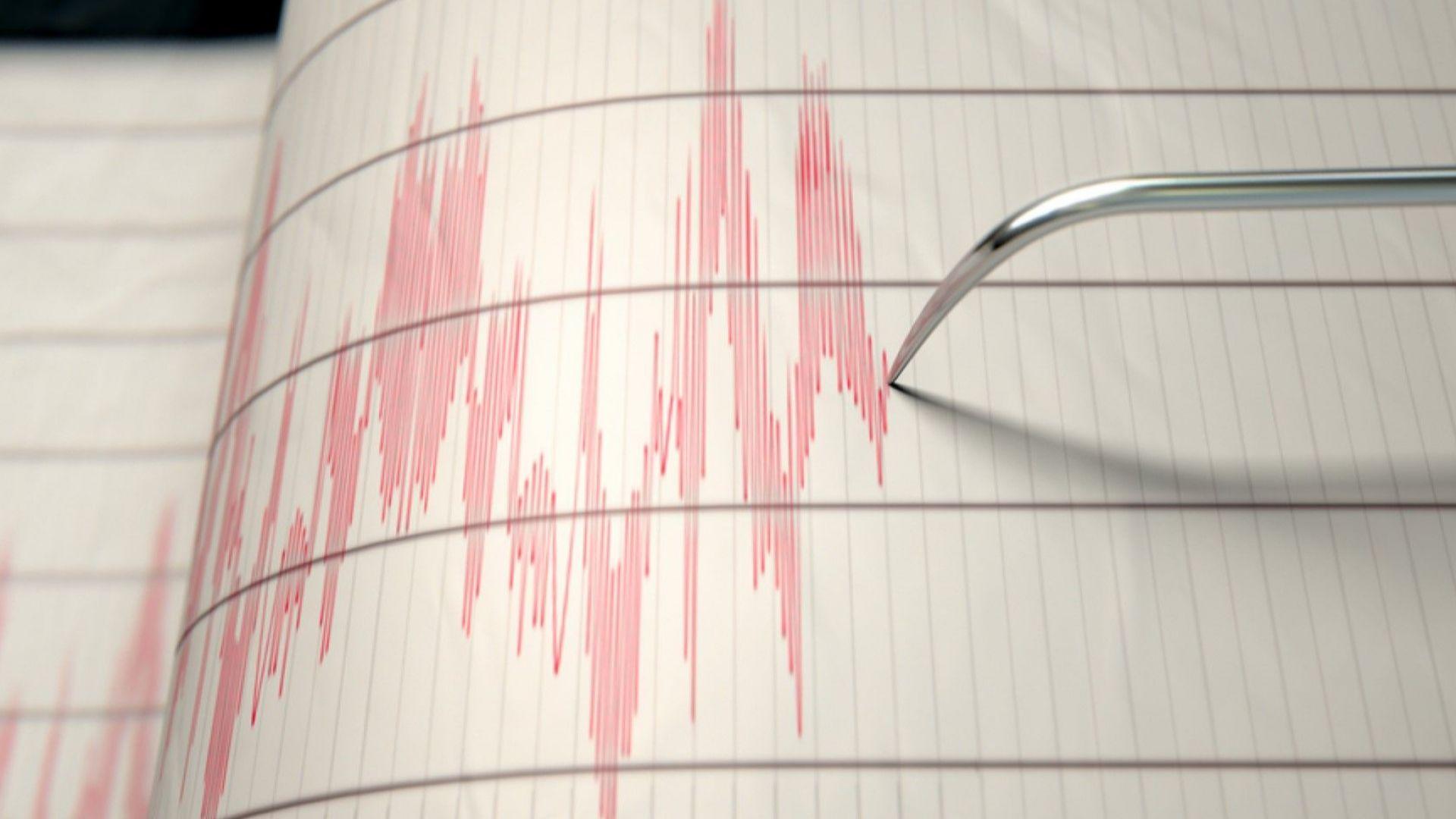 Земетресение от 5,1 по Рихтер край Родос