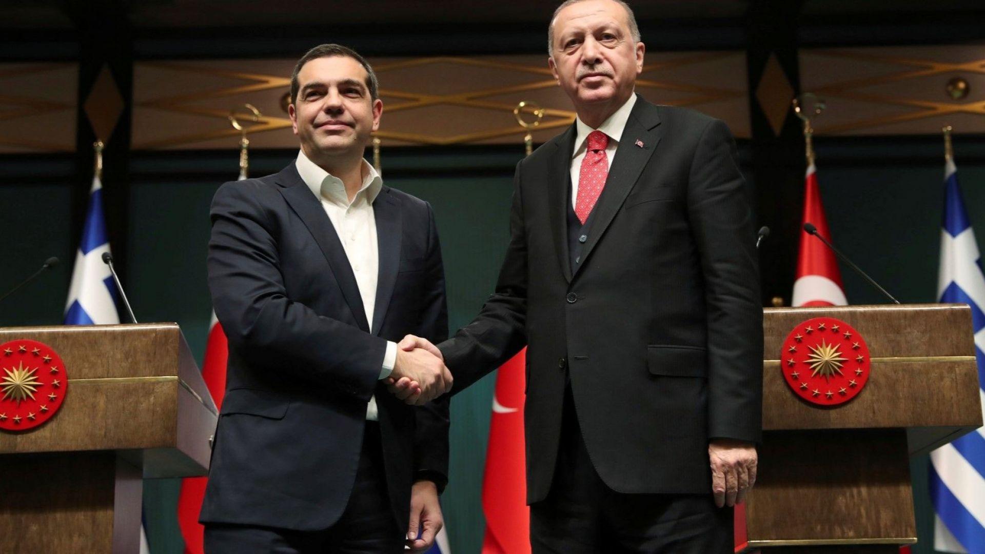 Ердоган иска с Гърция да изготвят пътна карта  за разрешаване на проблемите