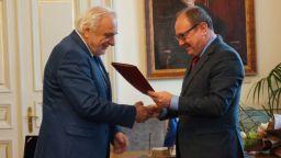 Акад. Пламен Карталов беше удостоен с почетен знак на БАН