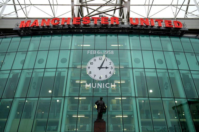Почитта на стадиона на Юнайтед преди година, на 60-ата годишнина от Мюнхен