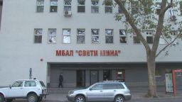 Две студентки стават доброволци в COVID болницата в Пловдив