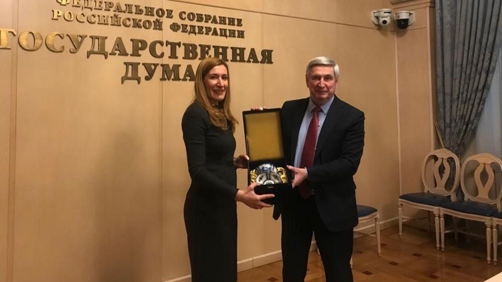 Ще развиваме круизен туризъм с Русия
