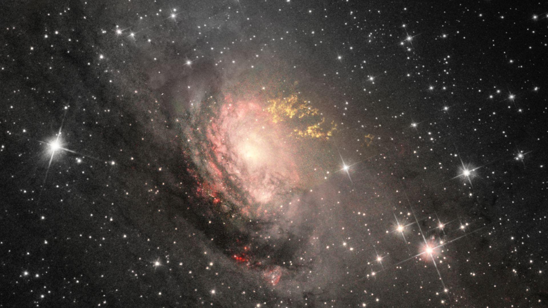 Астрономи: Ако сте в карантина, изследвайте космоса