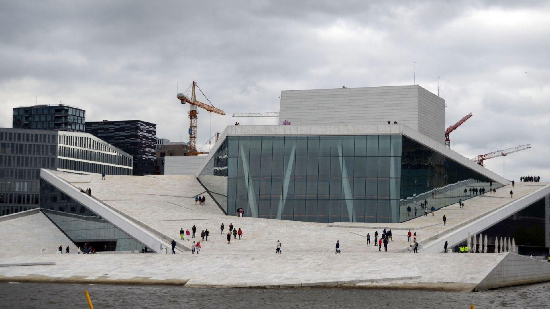 Най-красивата опера в света е в Осло