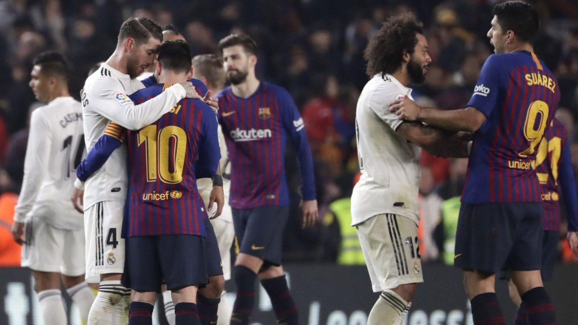 Барса и Реал се захапаха, но не смъртоносно