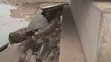 Нов мост, построен преди 4 г., вече се руши и е опасен