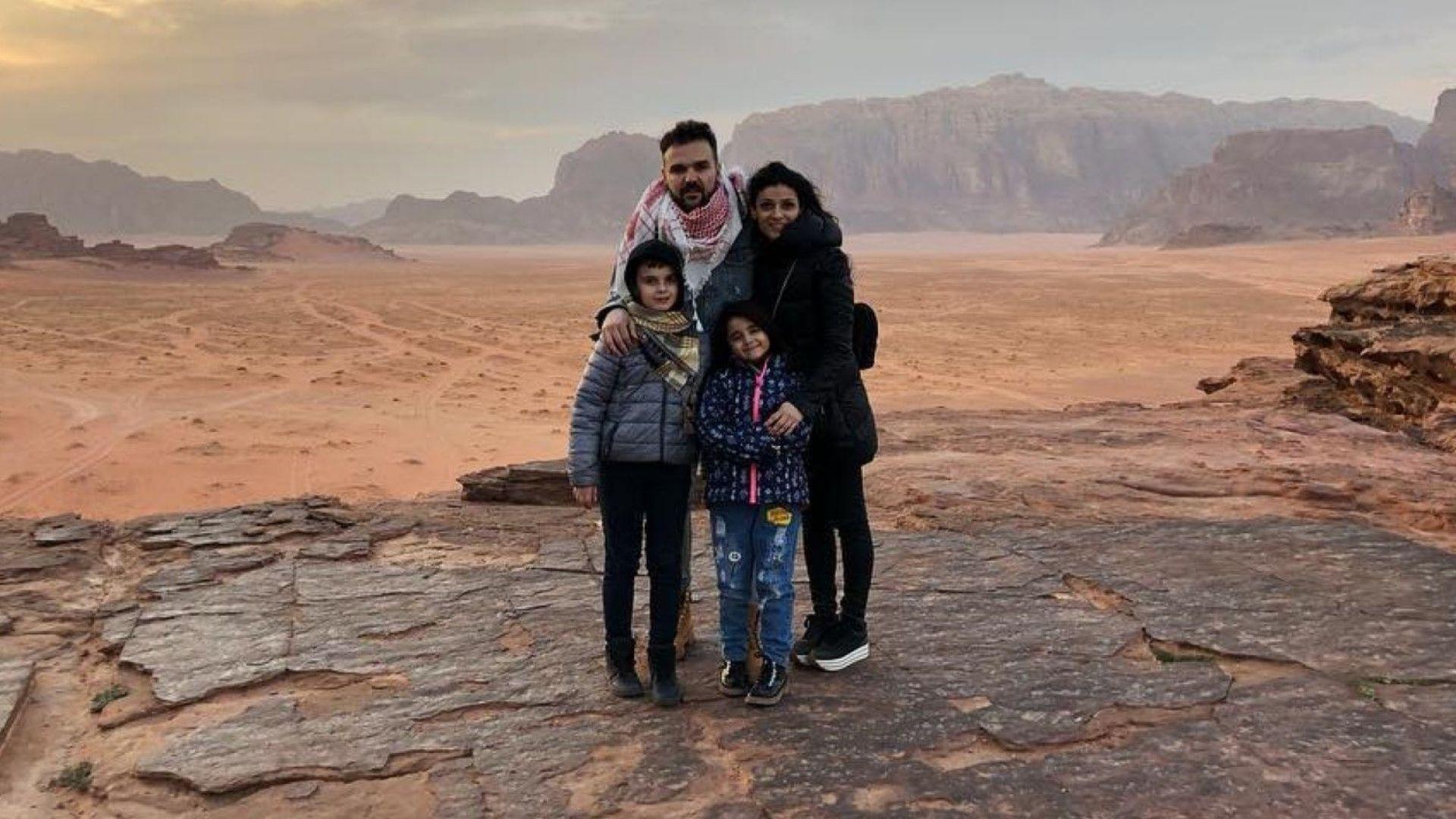 """Графа заведе семейството в пустинята на """"Лорънс Арабски"""""""