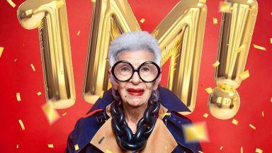 97-годишна подписа първия си договор с модна агенция