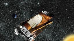 "НАСА публикува прощалните снимки  на ""Кеплер"""