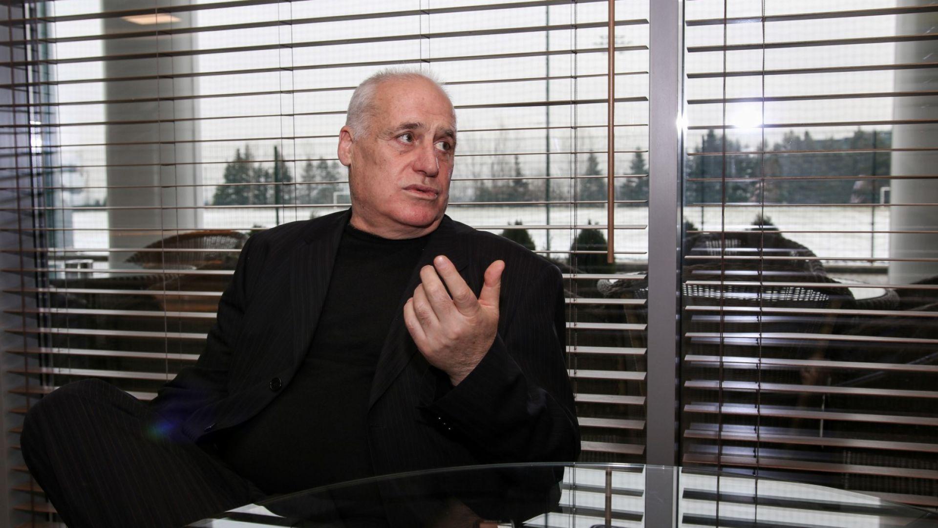 Почина легендарният футболист Георги Димитров - Джеки
