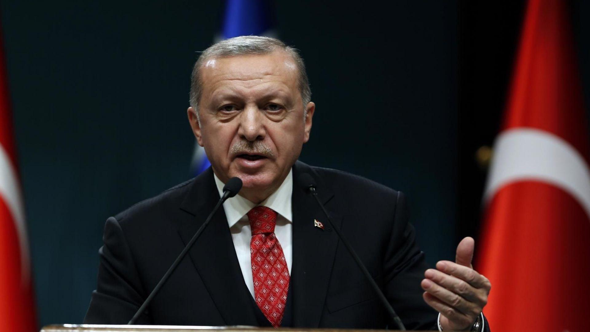 Ердоган: Терористите, които убиват мюсюлмани, използват западни оръжия