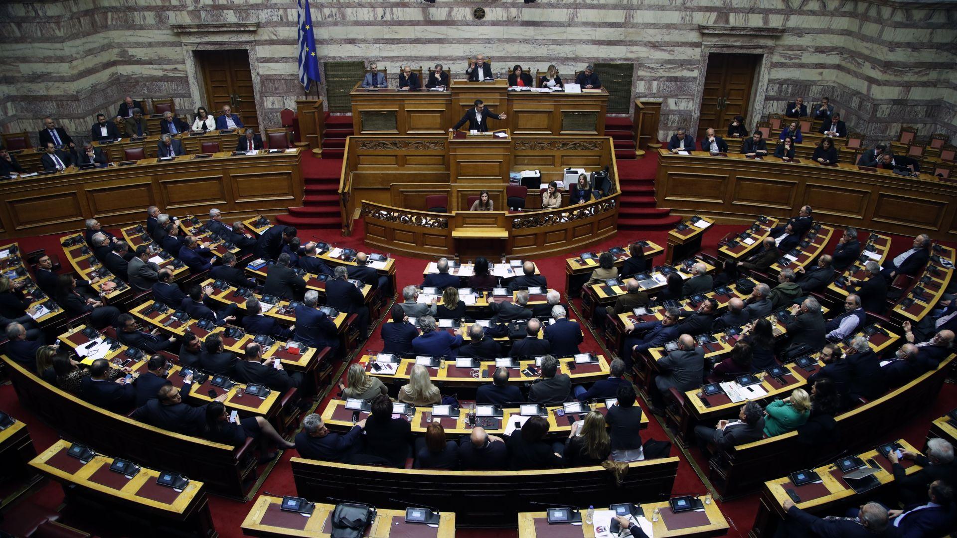 Гръцкият парламент ратифицира споразумението на НАТО с Македония