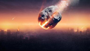 Измериха мощността на взрива от  Челябинския метеорит