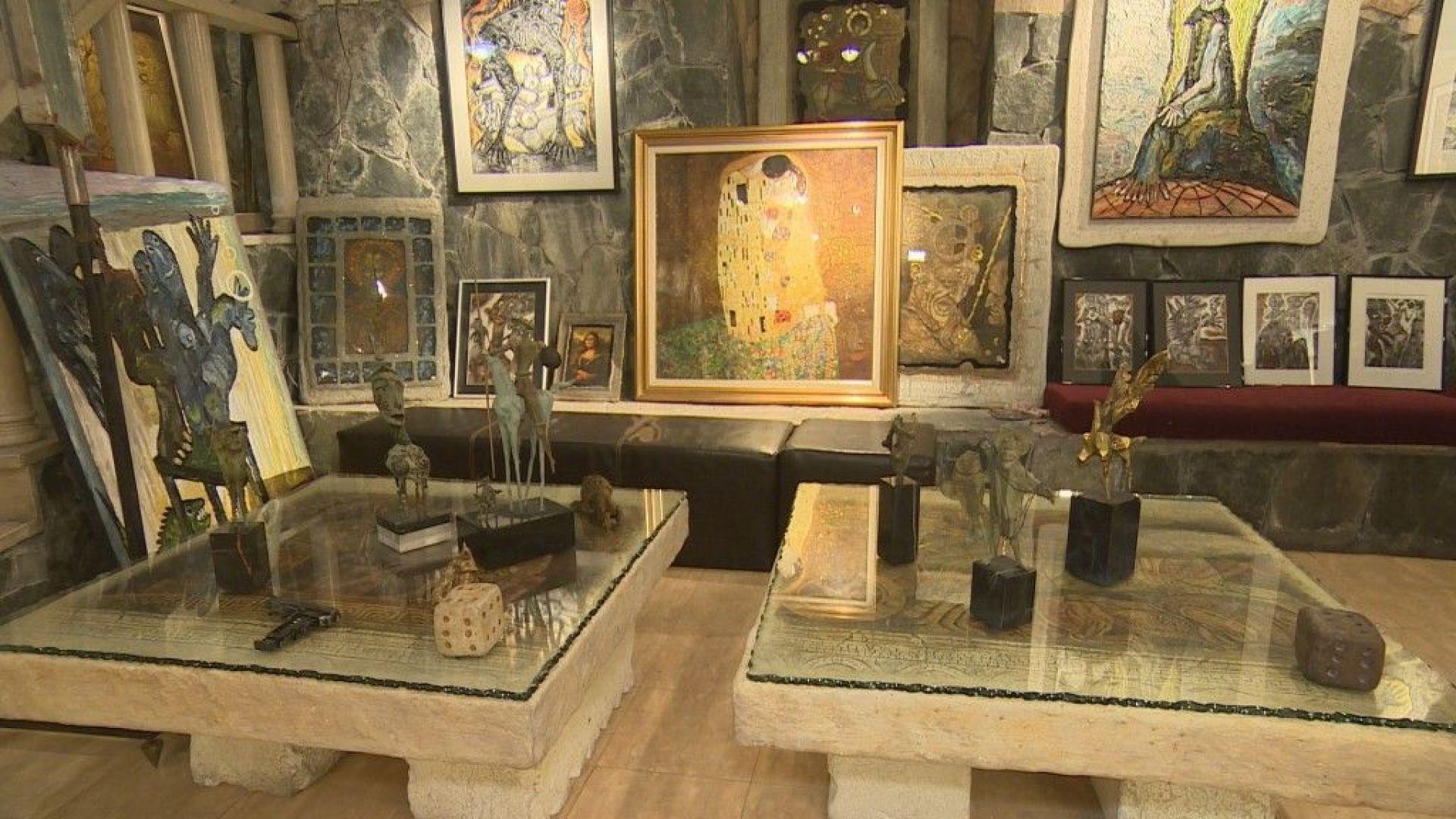 Обраха ателие на Ставри Калинов, липсват метални скулптури