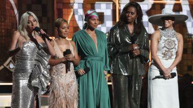 """Лейди Гага с """"Грами"""" за """"Shallow"""", Мишел Обама уважи церемонията"""