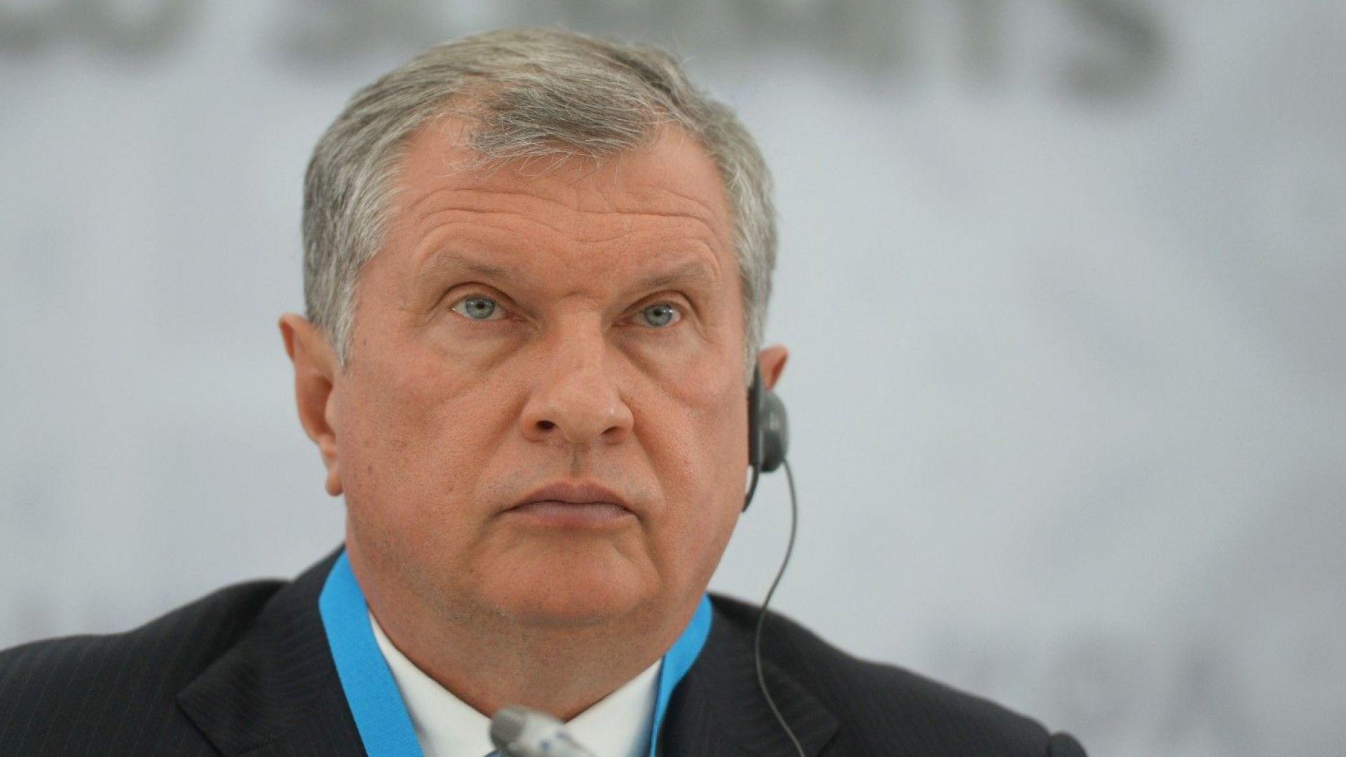 Игор Сечин в писмо до Путин: Сделката с ОПЕК е заплаха за нас