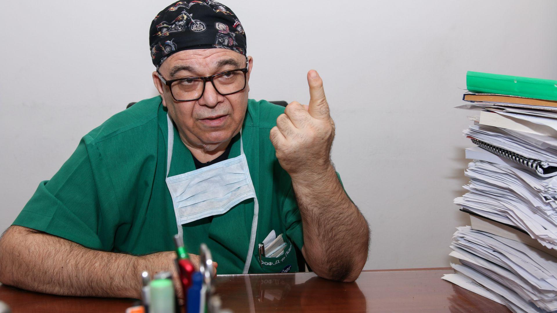 Проф. Петър Панчев: Онкоболните се увеличават, а част от българите не ходят на лекар от страх