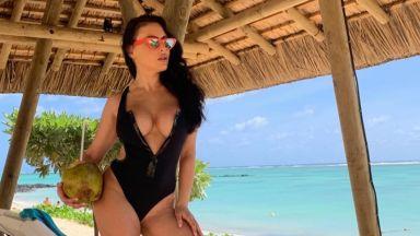 Лили Ангелова събира слънце на остров Мавриций