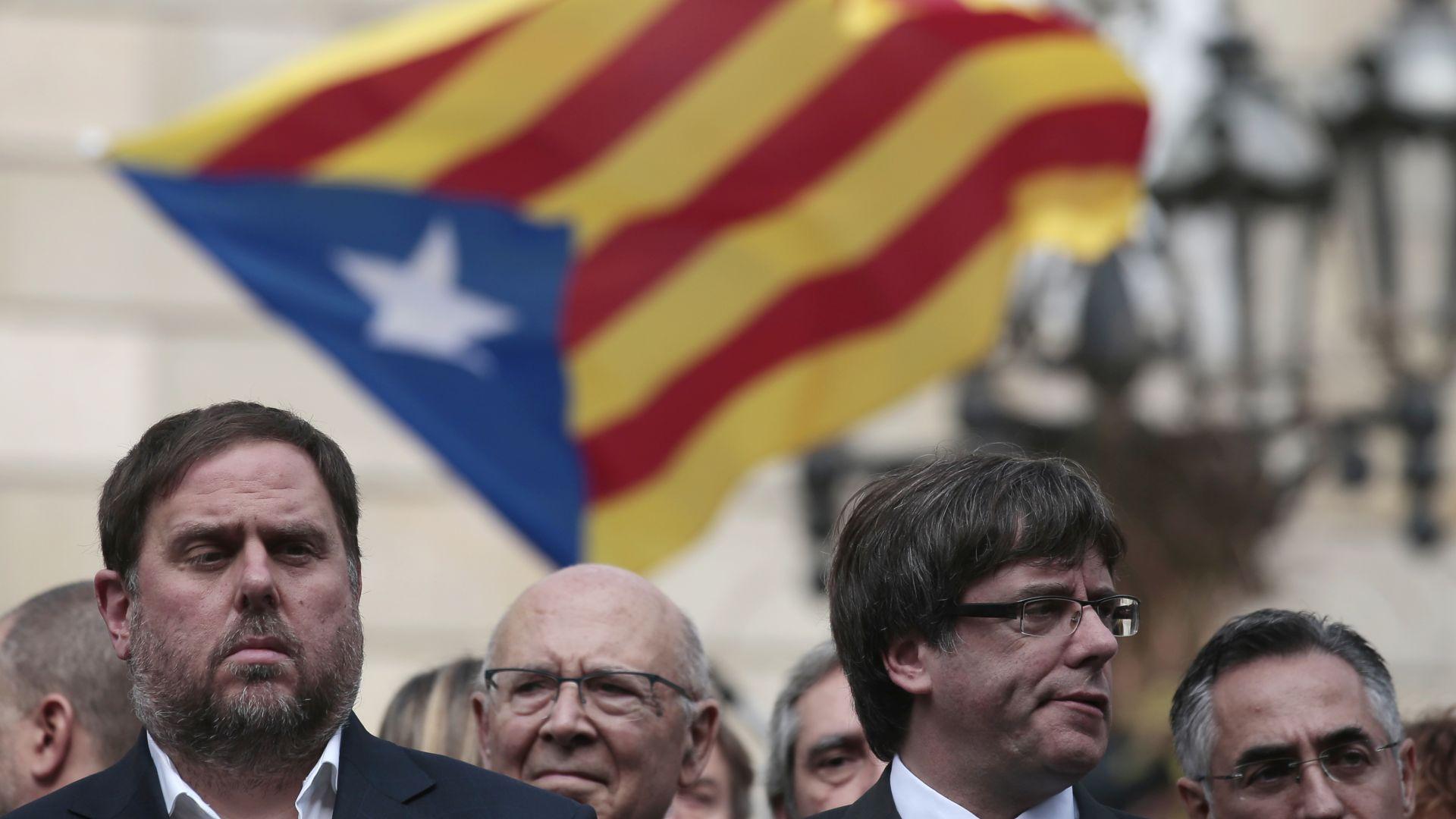 Високо напрежение в Испания: Съдят 12 каталунски сепаратистки лидери