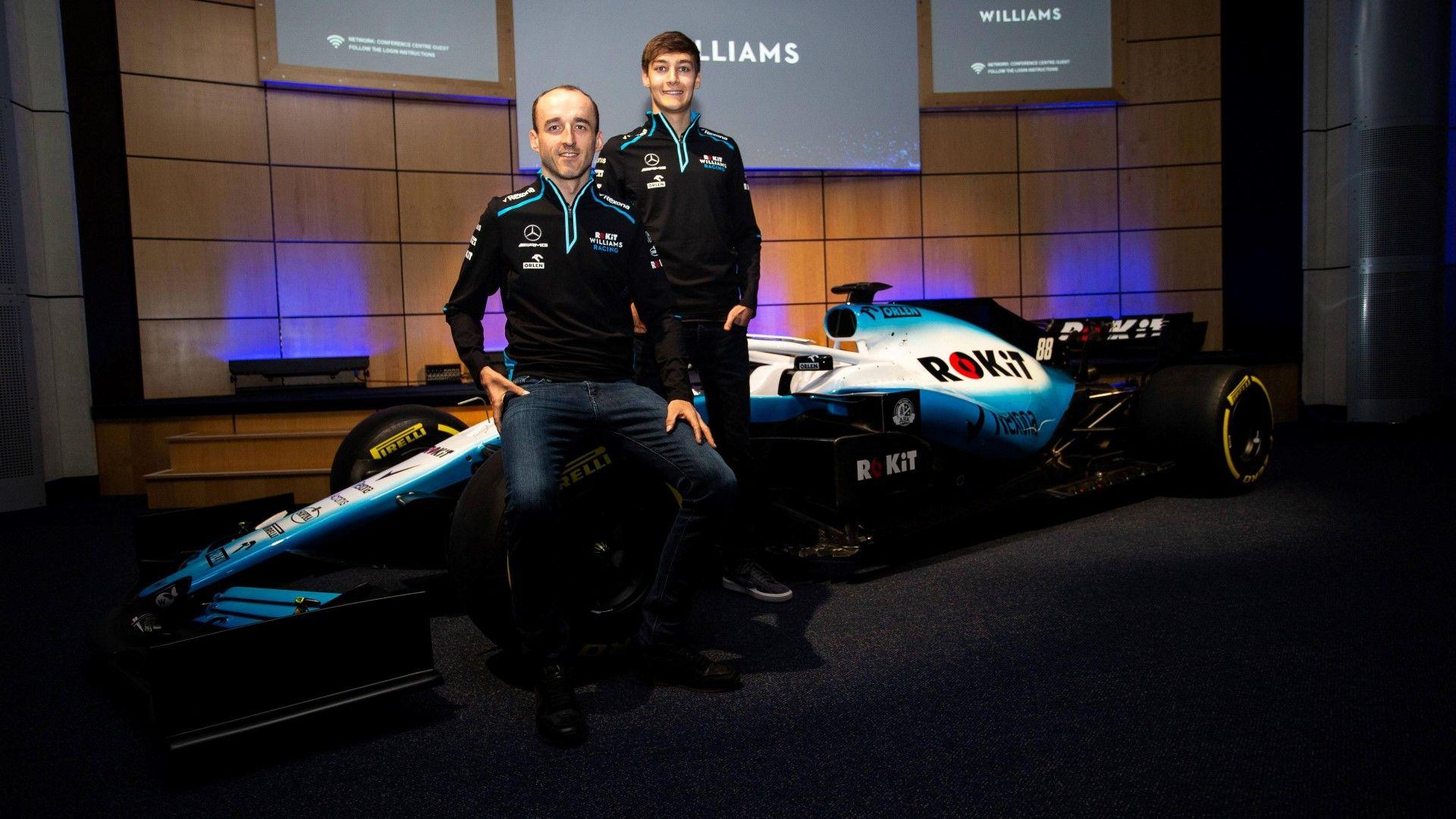 Уилямс смени спонсора, цветовете и пилотите (галерия)