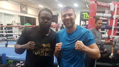 Тервел Пулев се готви с бивш световен шампион