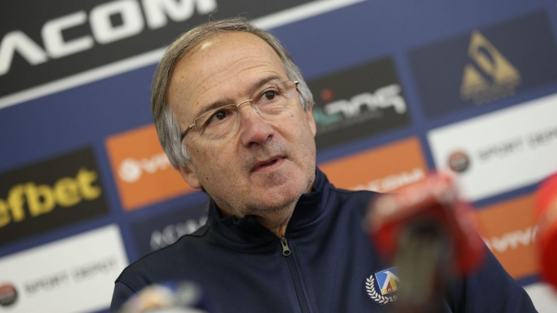 Дерменджиев най-после подписа своя договор с Левски