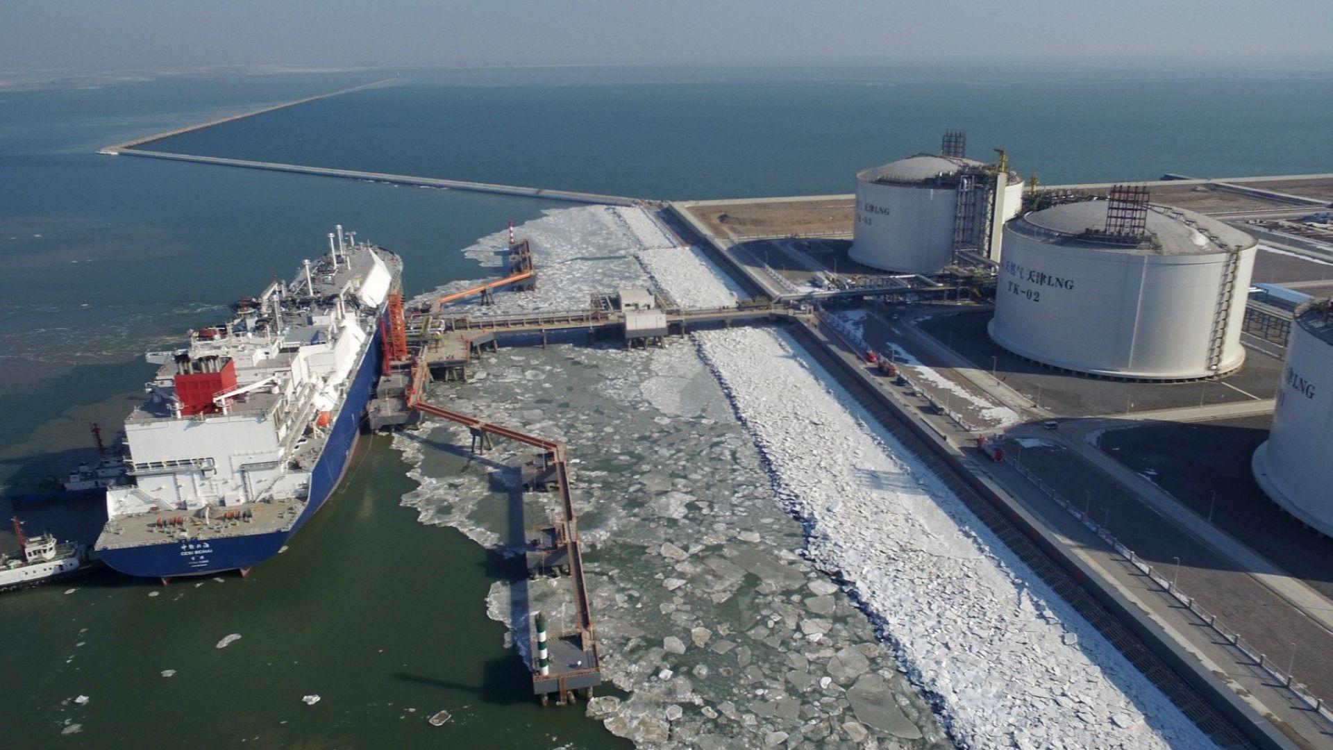 Германия започва изграждането на терминали за втечнен газ