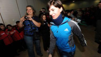 Катя Дафовска влиза в състезание на легенди