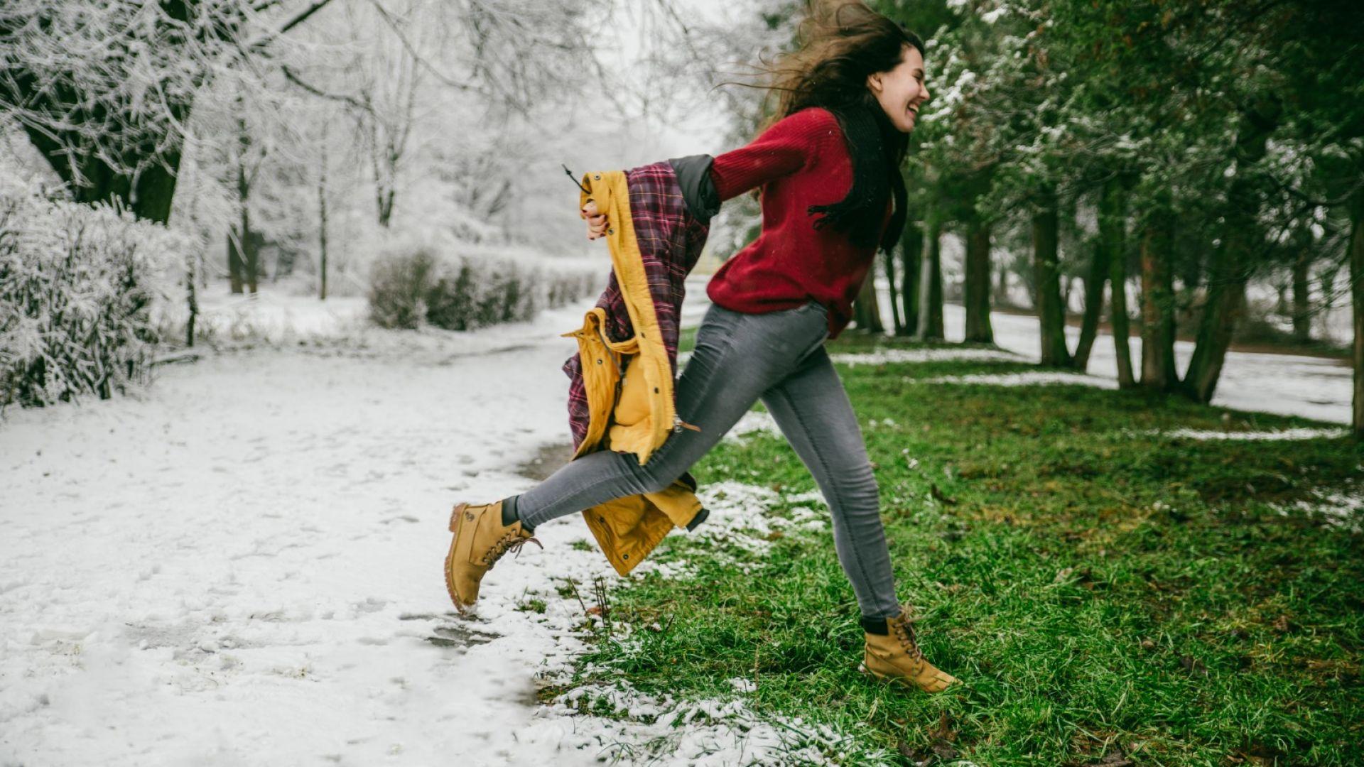 Екстремно зимно затопляне в Европа, по-слабо у нас