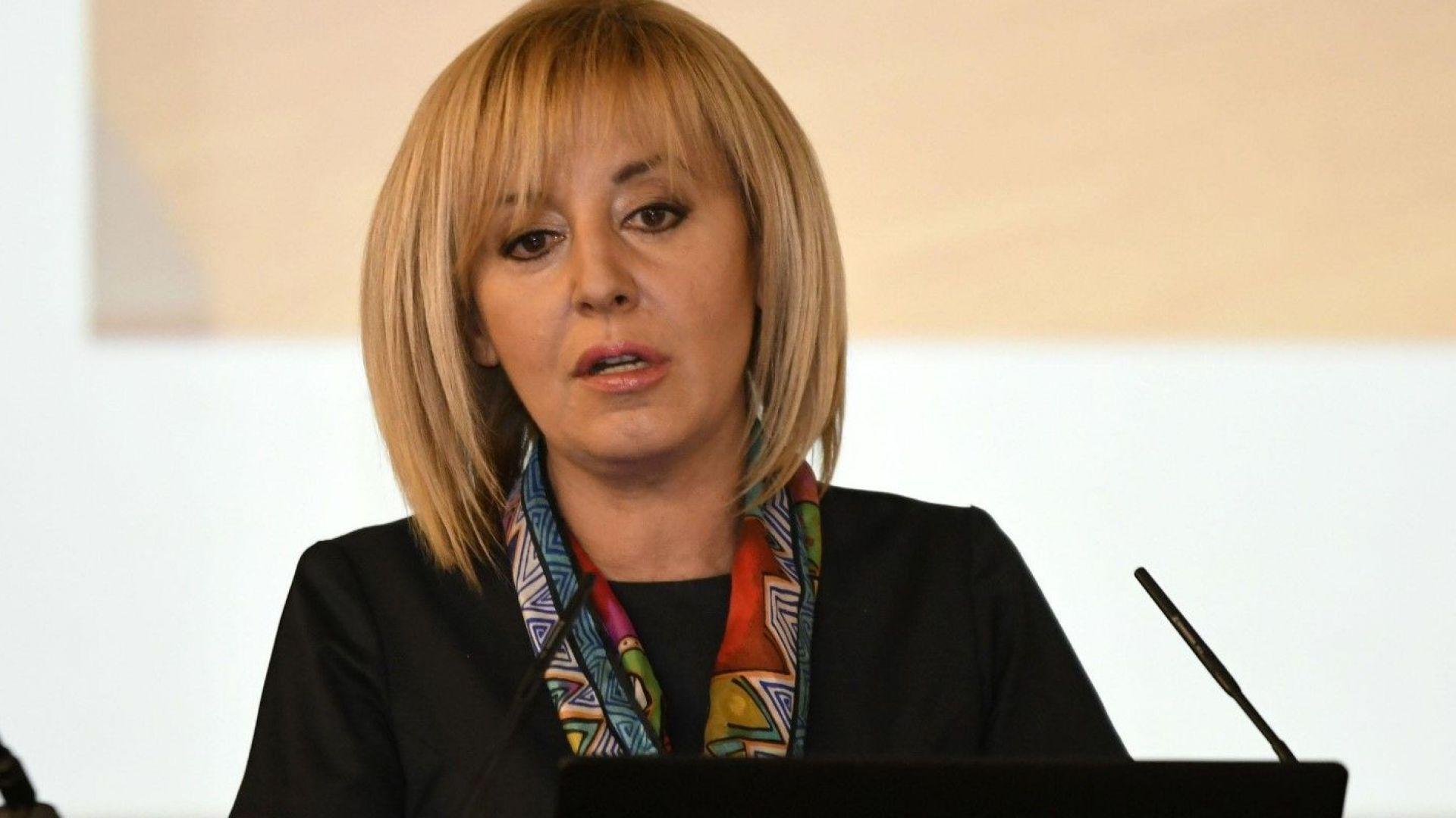 Мая Манолова: Някой много се притеснява от моя кандидатура за кмет на София