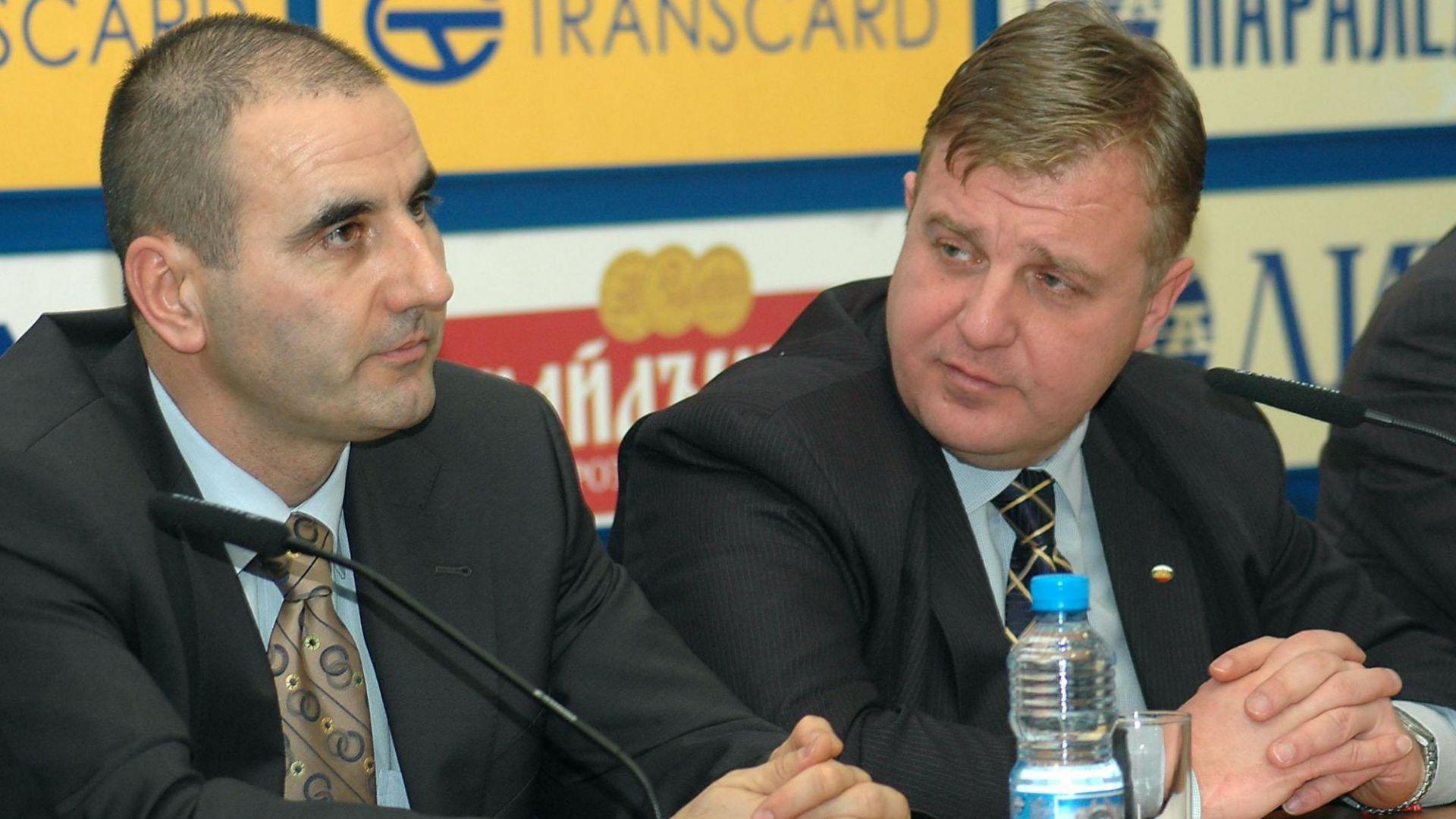 Цветанов и Каракачанов се срещат по тъмно за ултиматума към правителството