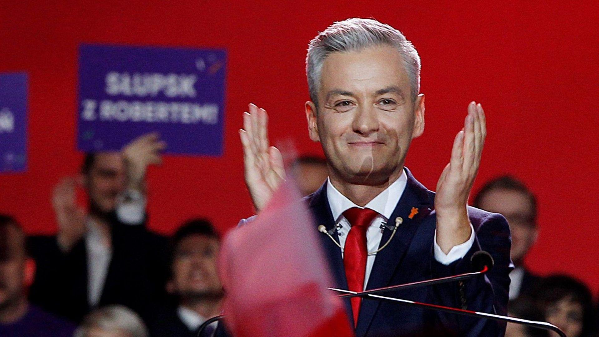 Роберт Бедрон - обаятелен хомосексуалист, който иска да промени Полша