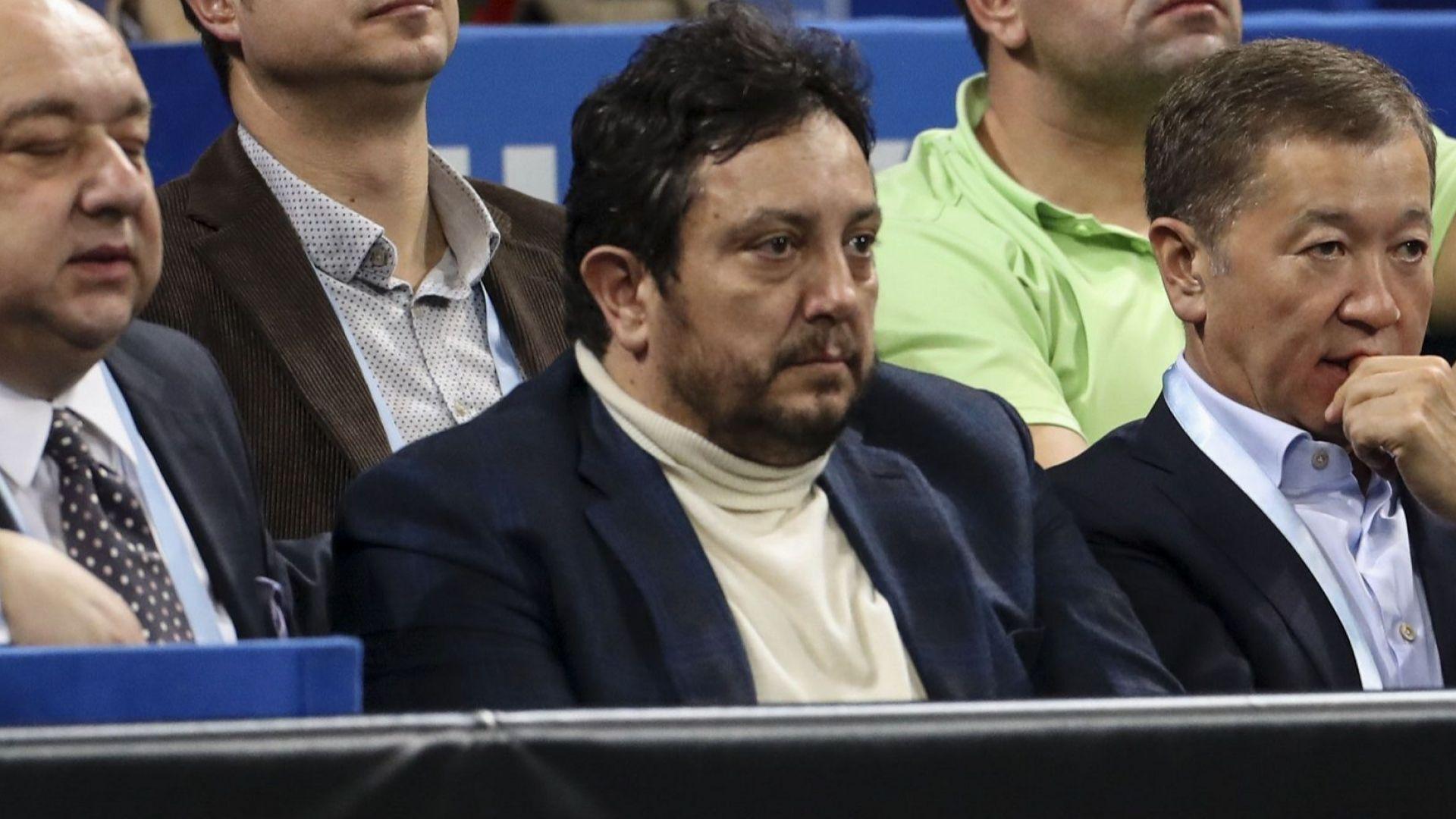 Президентът на федерацията по тенис бе преизбран на престижен пост
