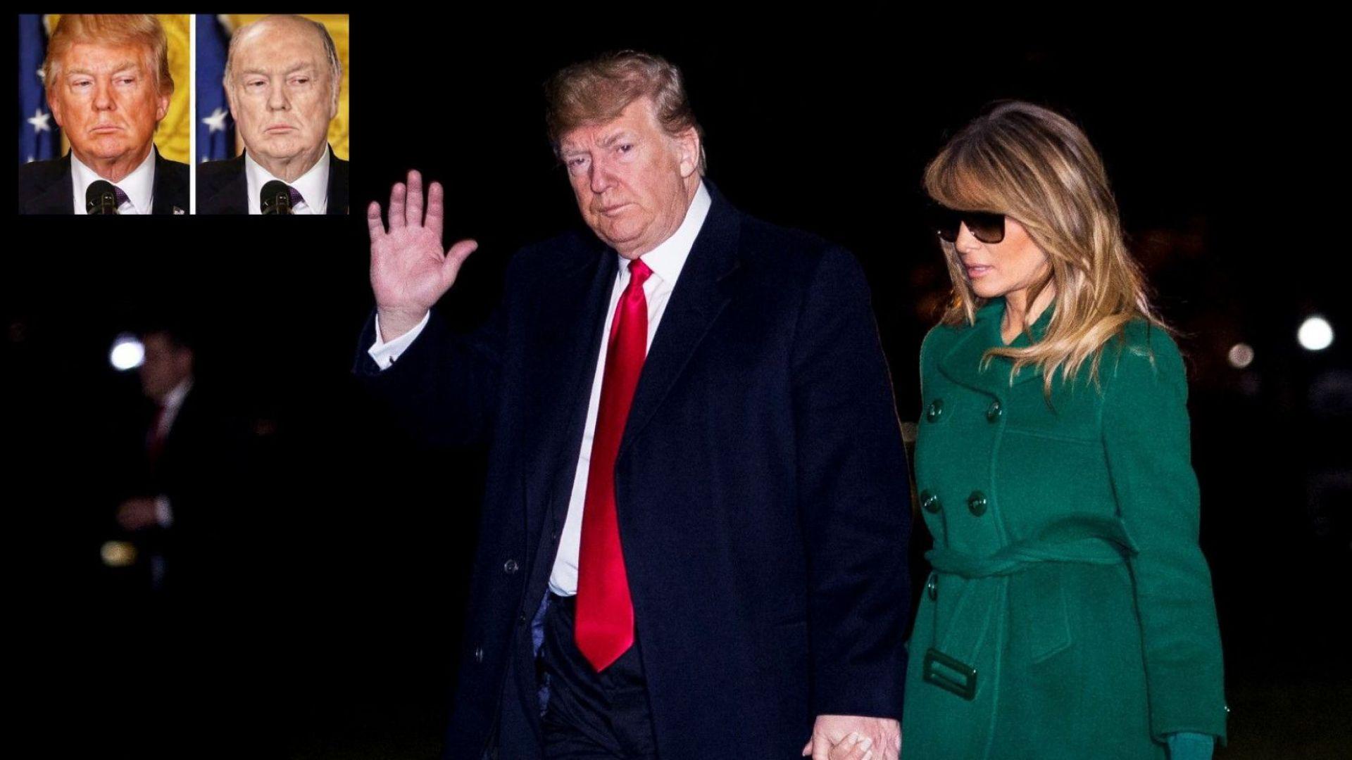 """""""Подстригаха"""" Тръмп - плешив и без тен, но """"по-надежден"""" (снимка)"""